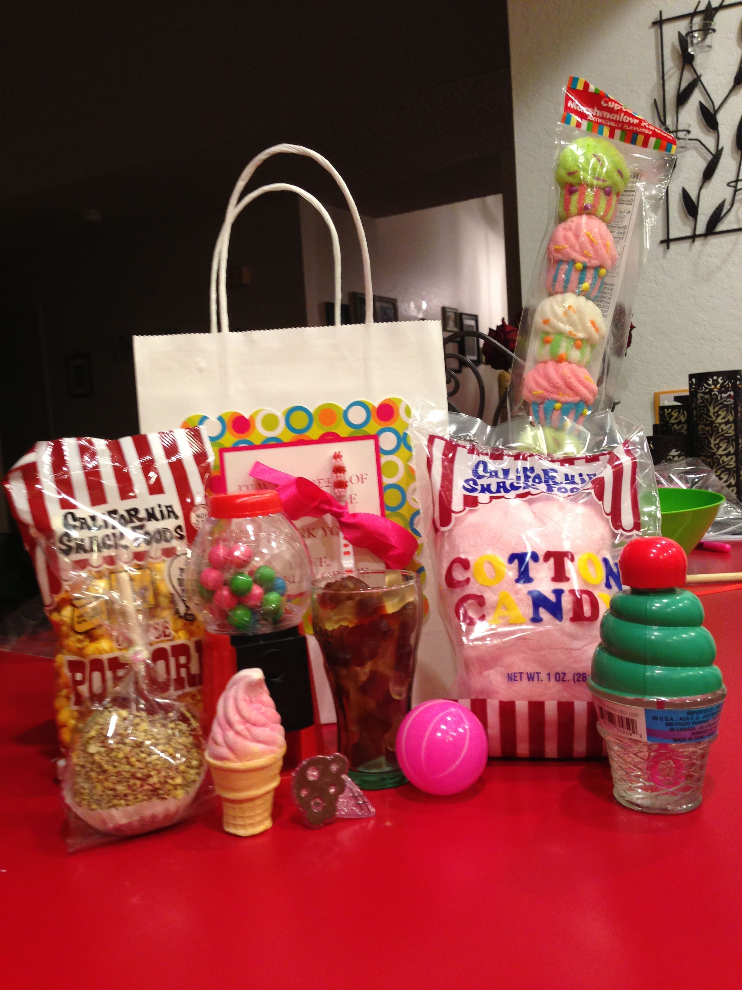 Party ideas/ sweet shoppe birthday/ grab bags