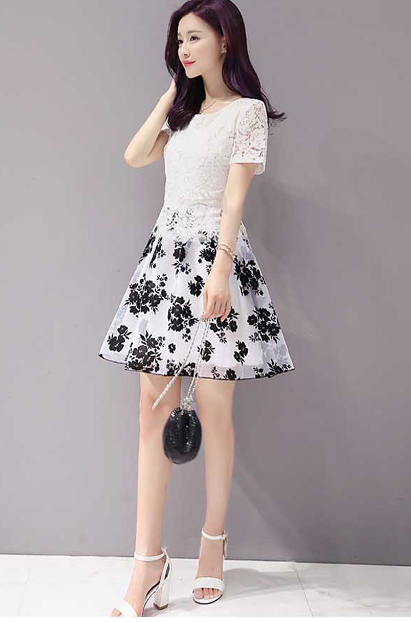 Dress Pendek Korea Asli Import Ready Stock Terbaru 37a89 8 Fashion