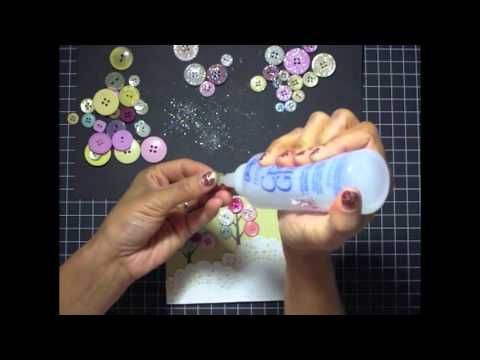Make It Monday | Glittered Buttons » Paper Suite