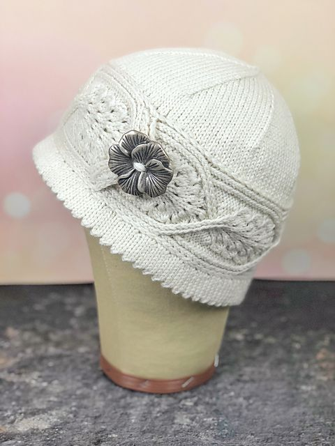 Piuma Hat pattern by Heather Zoppetti | Gorros, Boinas tejidas y Dos ...