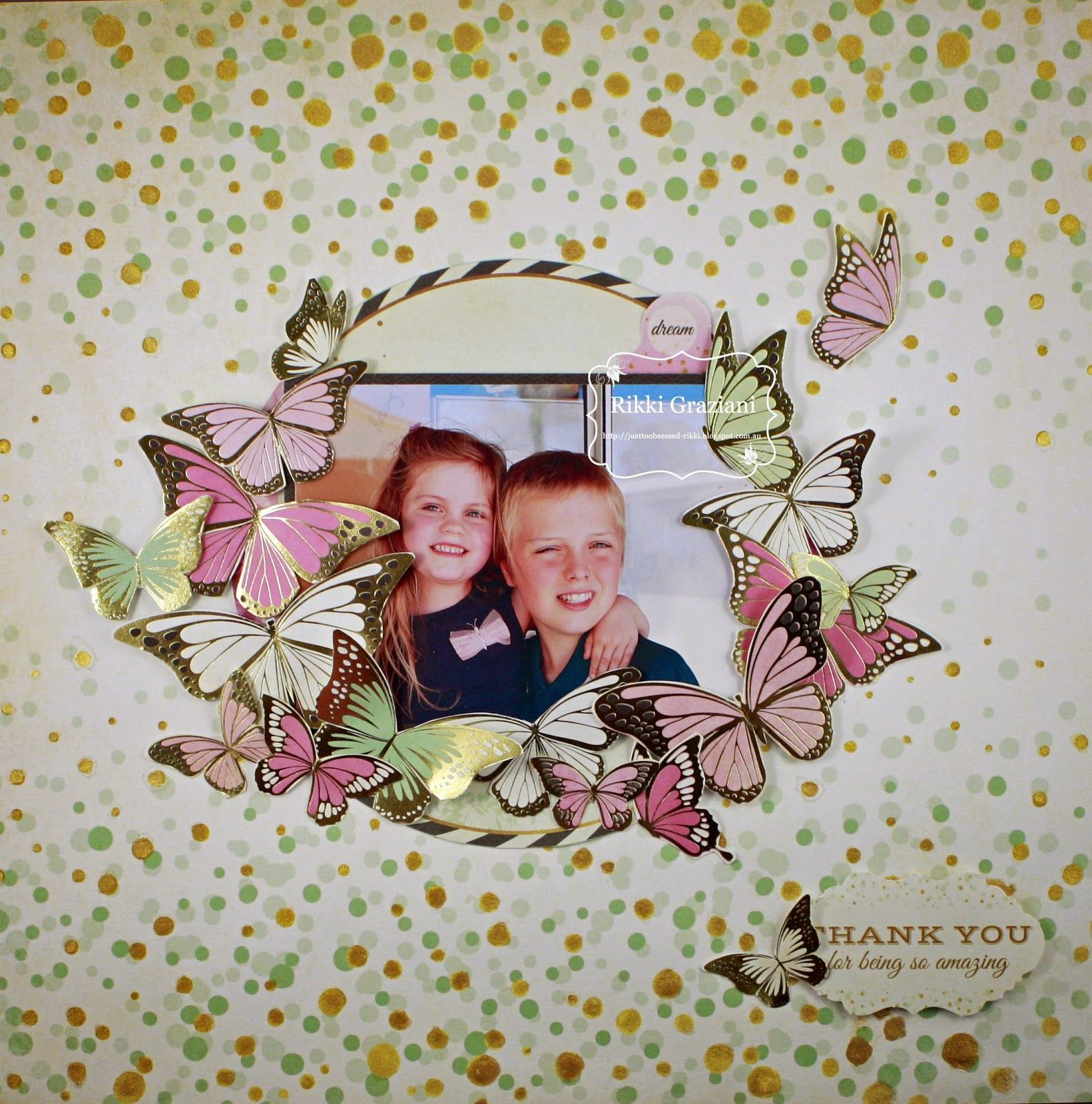 Kaisercraft Layouts, Scrapbooking