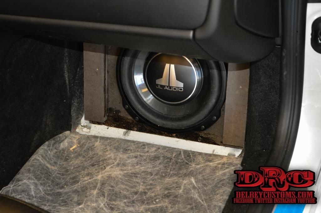 Maserati Sub Box Upgrade for the Front Bose System  JL Audio