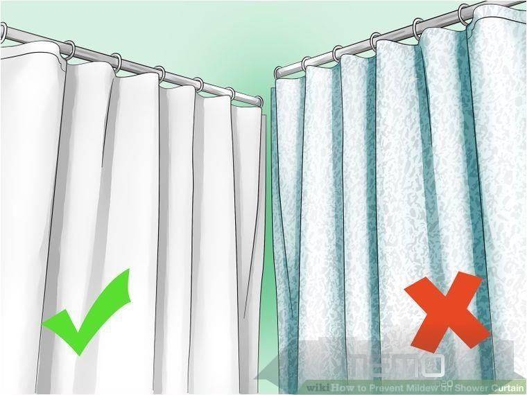 Mar 11 2016 How To Prevent Mildew On A Shower Curtain Mildew Growth On Your Shower Curtain Is In 2020 Clean Shower Curtains Cleaning Curtains Cloth Shower Curtain
