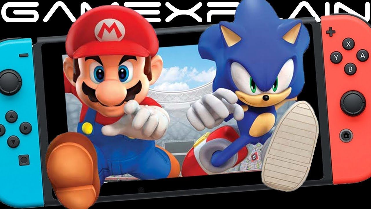 Mario Sonic At The Tokyo 2020 Olympic Games Revealed For