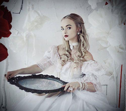 """""""Alice in Wonderland: The White Queen"""" by Marianna Orlova"""