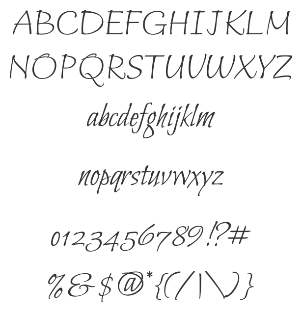 Bilbo Sample  Interesting Script Font Appreciate Notes Regarding