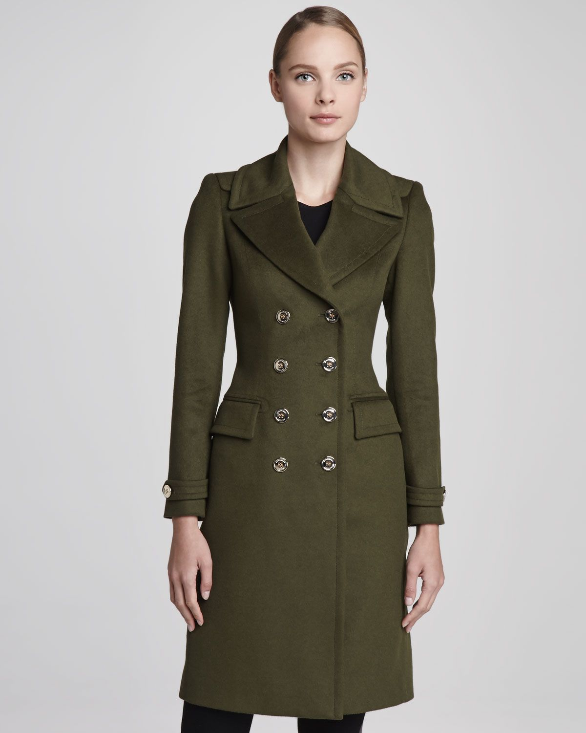Burberry London Wool-Cashmere Military Coat