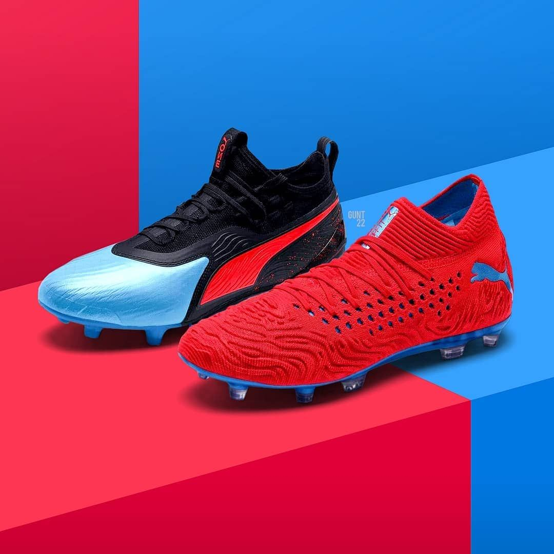 Here S An Exclusive Look At The All New Pumafootball Power Up Pack Featuring The Next Gen Future 19 1 An Football Shoes Football Boots Nike Soccer Ball