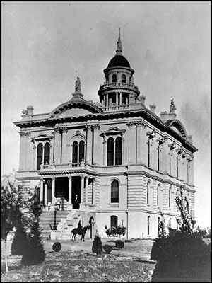 An Older Pic Of Our Courthouse Merced Bakersfield California Hobby World