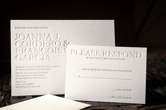 Hey, I found this really awesome Etsy listing at https://www.etsy.com/listing/209316751/letterpress-wedding-invitation