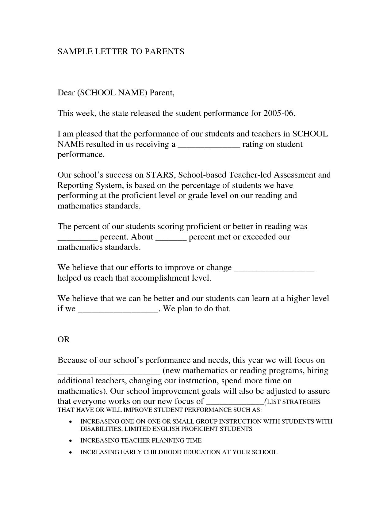 recommendation letter sample for teacher from parent httpwwwresumecareer