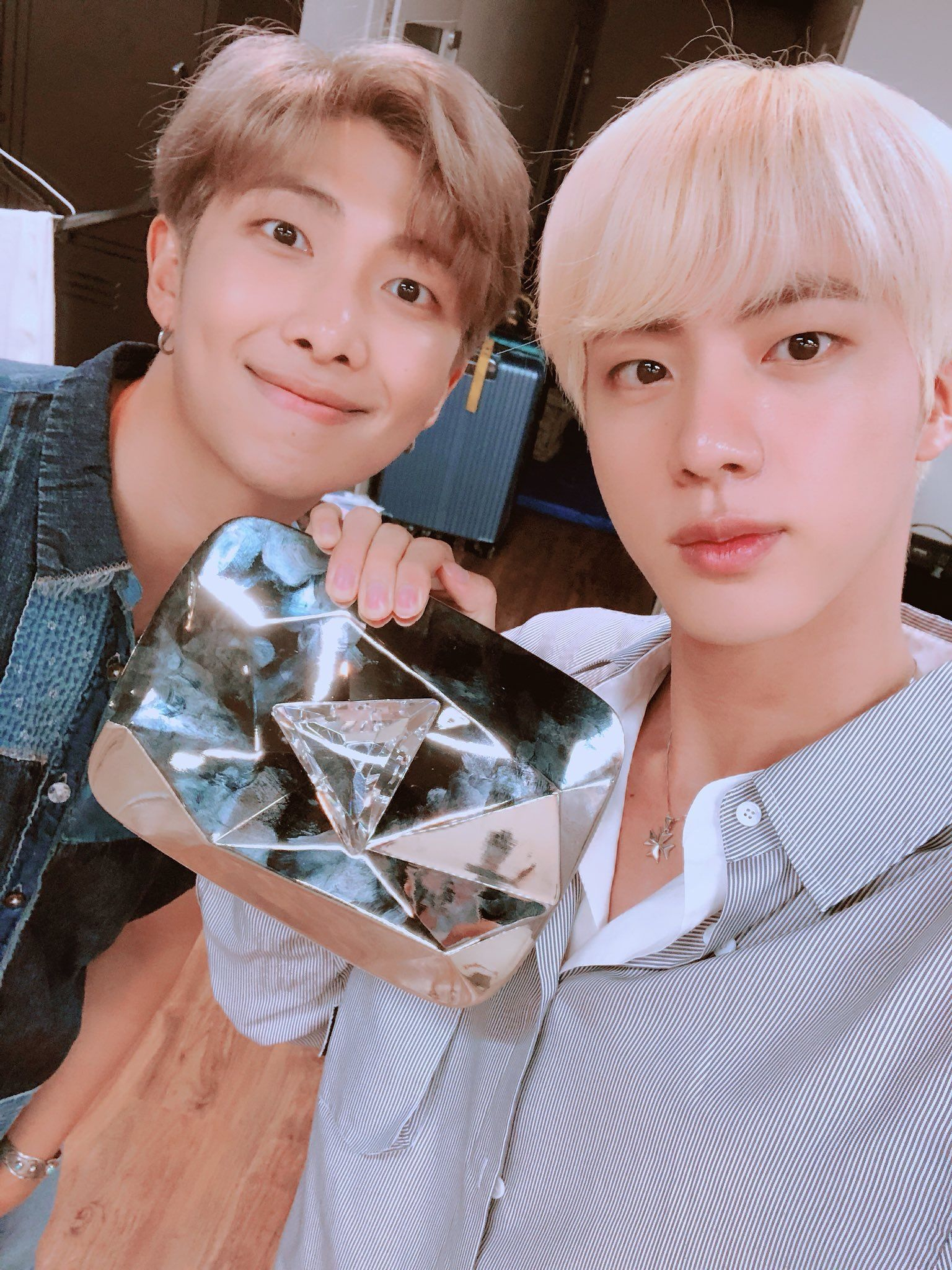 670cb343580 BTS RM and Jin (August 16th