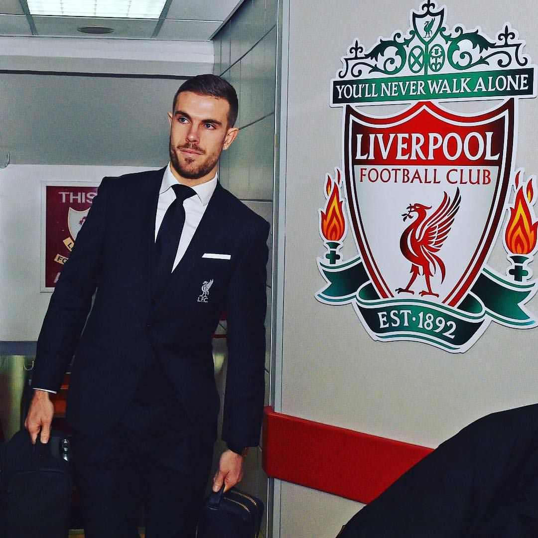 @jhenderson is back!  #LFC #WeAreLiverpool