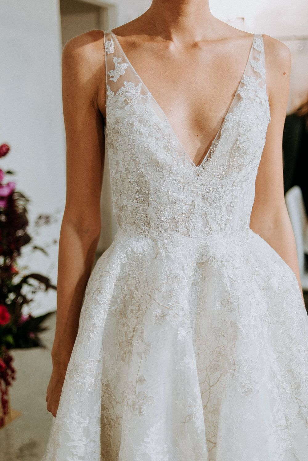 Photo of Anne Barge Fall 2020 Collection Preview —  Little White Dres…