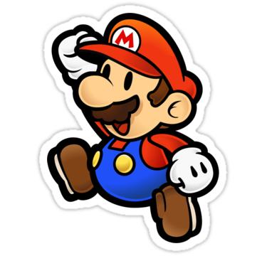 Pegatina Super Mario De Cusmar Tatuaje De Mario Mario Bros Dibujos Tatuaje De Super Mario
