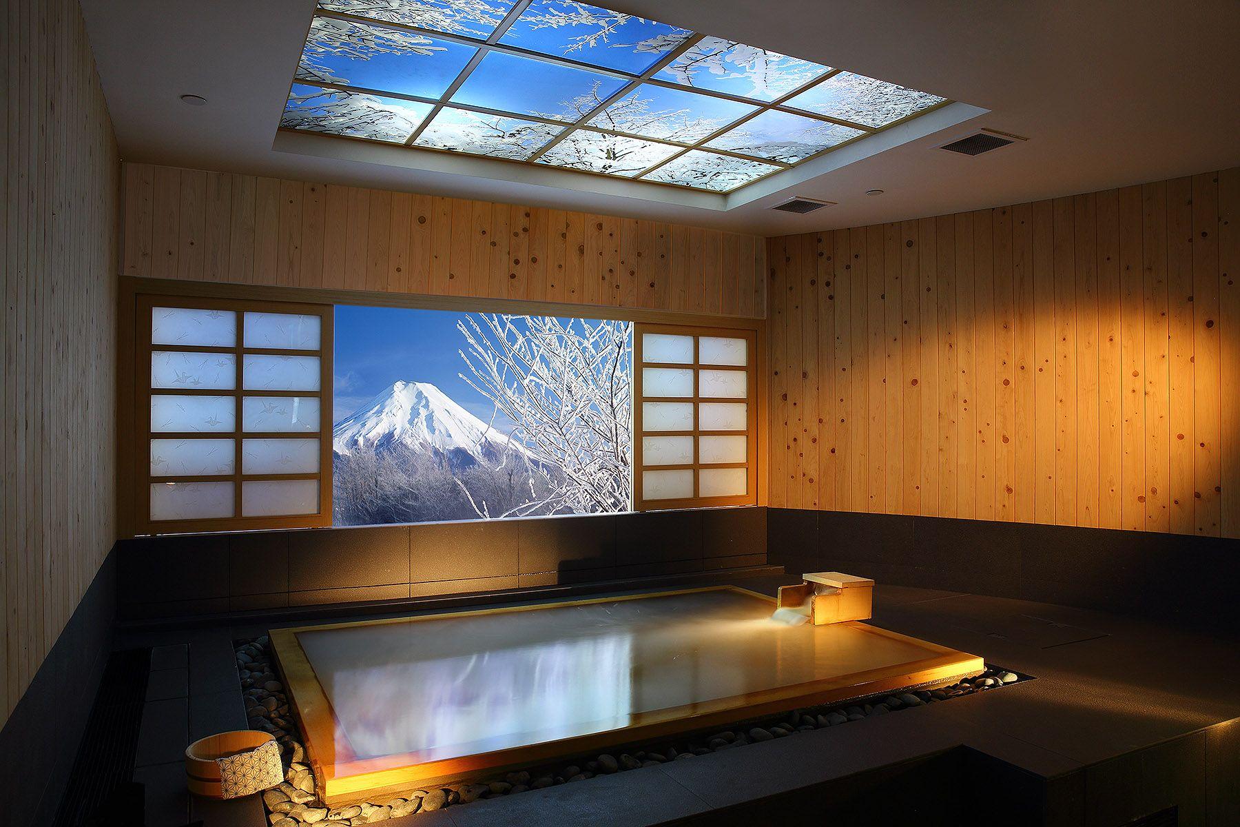 japanese onsen - Google Search | Outdoor Bath / Unique | Pinterest ...