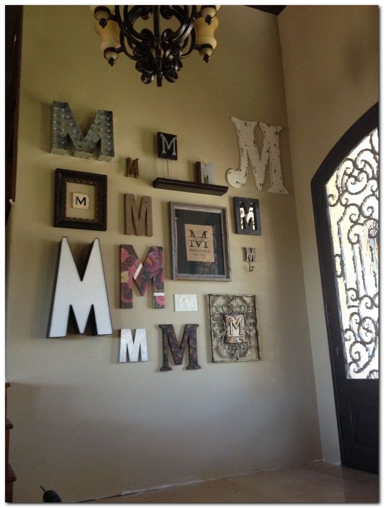 100 Popular Wall Rustic Decor Letter Wall Decor Monogram Wall