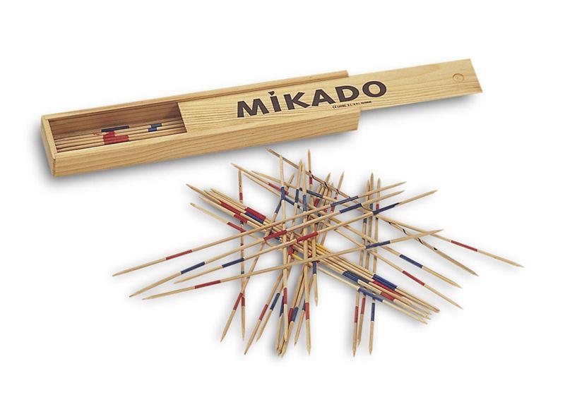 Mikado 33 Cm Madera Un Juego Oriental De Precision Y Buen Pulso