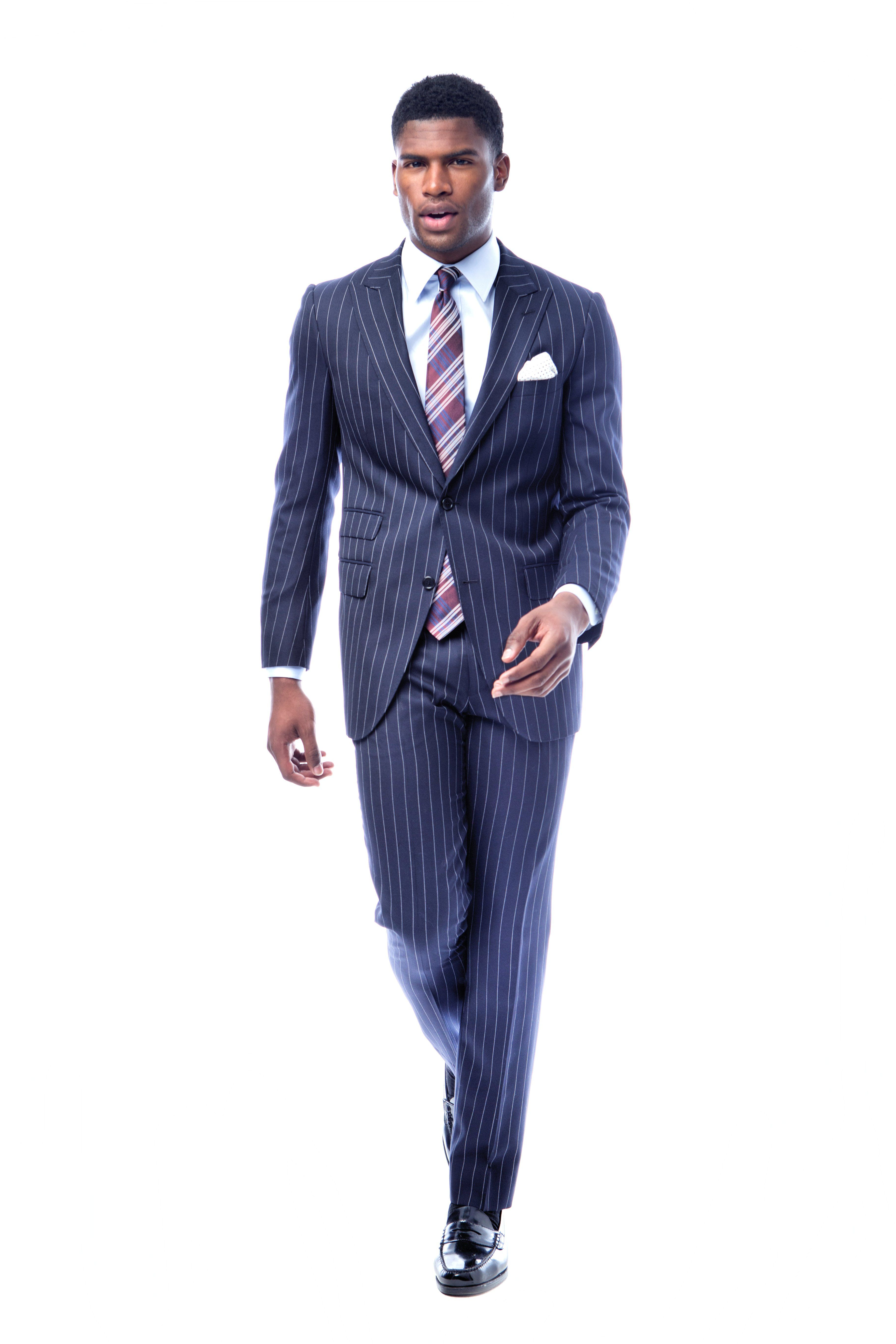 CLASSIC NAVY CHALKSTRIPE SUIT - $495 Nothing says Classic like a ...