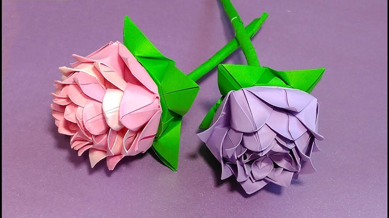 Easy origami rose it consists of 6 modules simple origami lotus easy origami rose it consists of 6 modules simple origami lotus flower how to izmirmasajfo Images