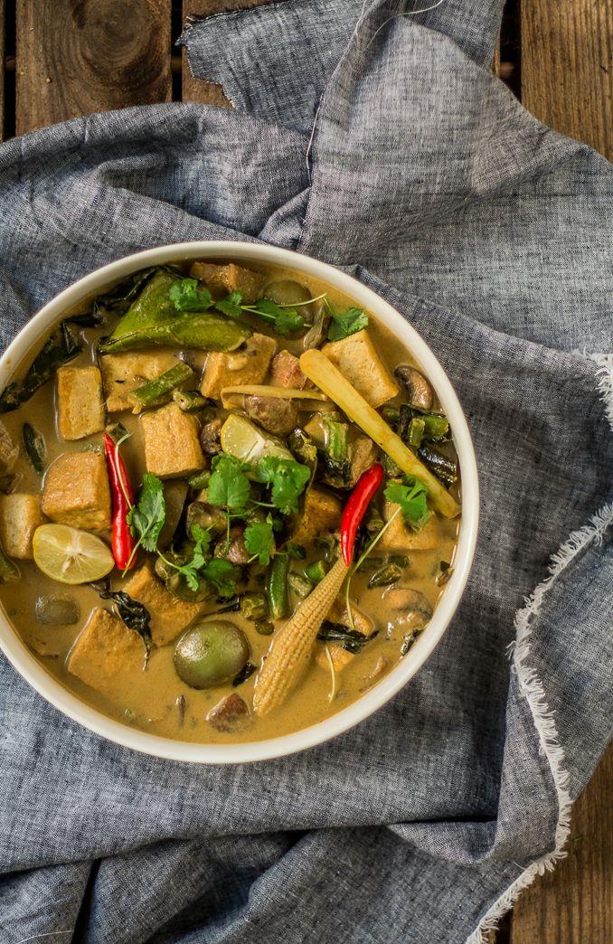 Mniumniu Kuchnia Roslinna Tajskie Zielone Curry Z Tofu Boskie