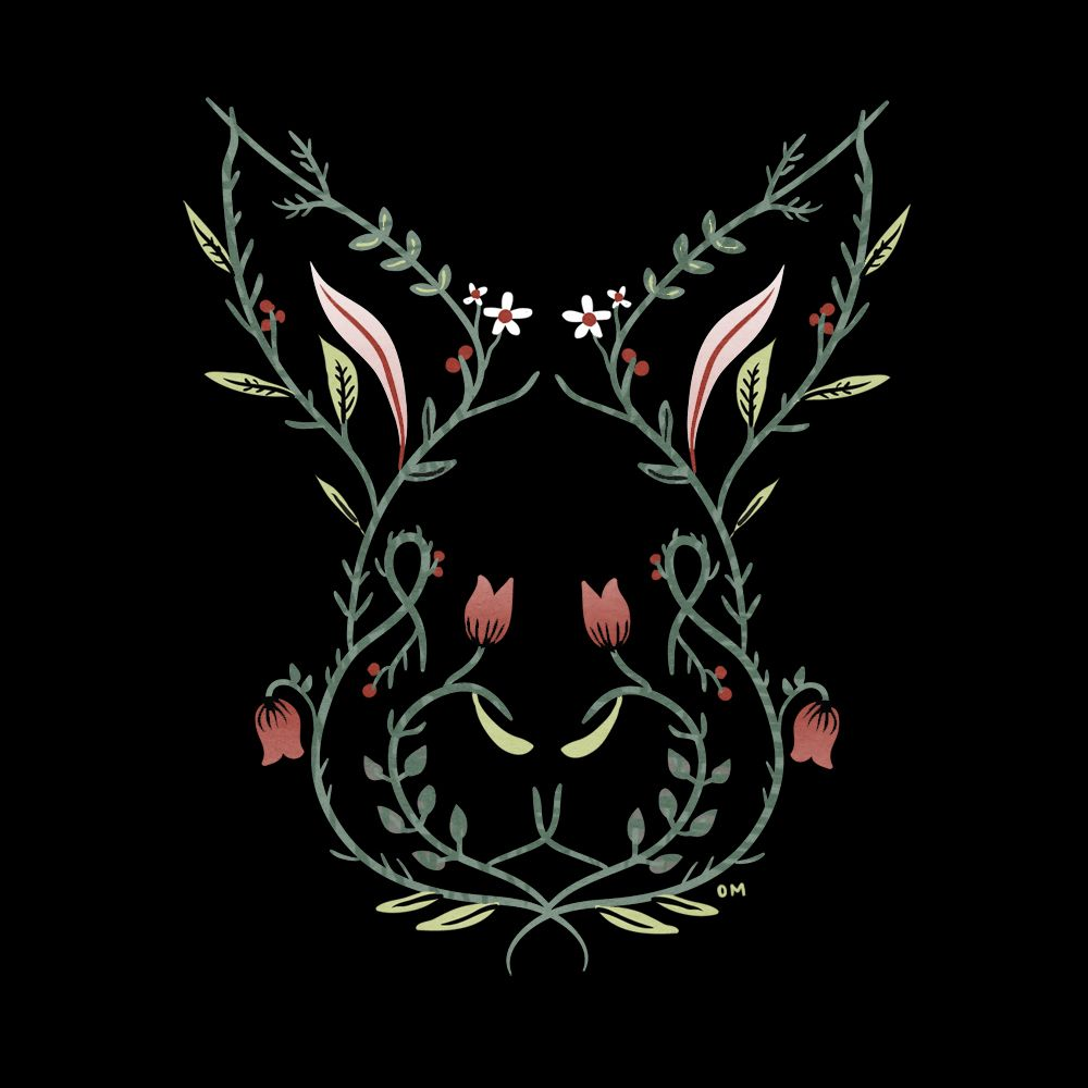 love a bunny Chinese zodiac, Kawaii illustration, Art