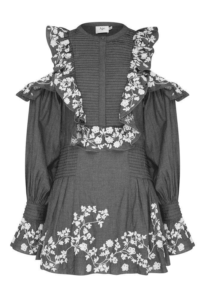 Ittiri dress - Black Aje Visit Outlet With Paypal Order Online Outlet Prices Outlet Best Store To Get Sale Outlet Vz6VqtdtoM