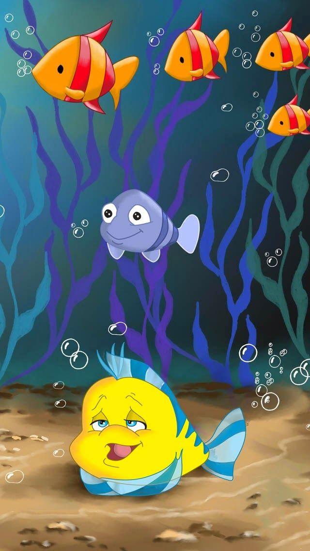 Cute Kids Mermaids Little Disney Young Iphone5 Art Drawings For Kids Mermaid Wallpapers Disney Wallpaper