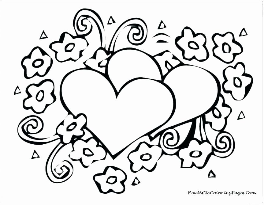 Valentine Hearts Coloring Page New Valentines Day Mandala Coloring Pages Re Printable Valentines Coloring Pages Heart Coloring Pages Valentine Coloring Pages Heart coloring worksheet