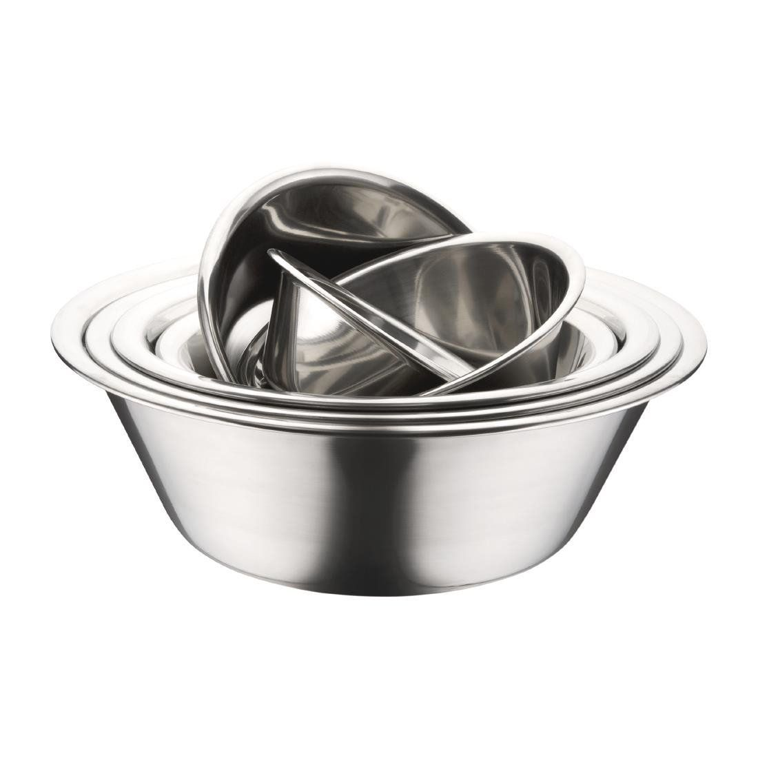 Commercial Mixing Bowl Stainless 9 1 2 Dia Capacity 67 Oz Want Additional Info Click On The Image This Is An Affiliate L Mixing Bowl Bowl Mixing Bowls