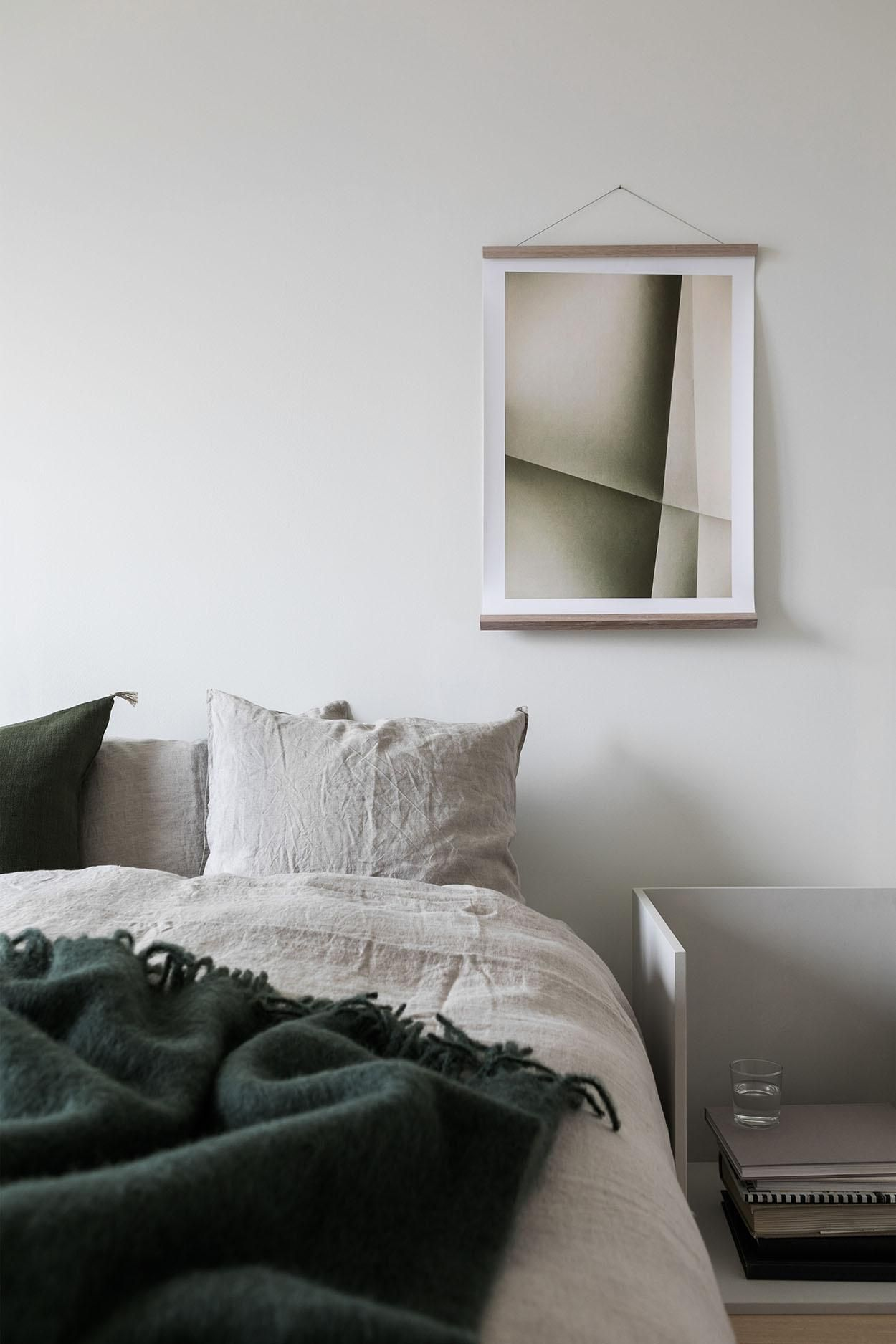 A Swedish Apartment with Emerald Green Elements - Inattendu