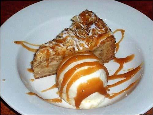 Apple Caramel Pie Recipe served at Whispering Canyon Cafe