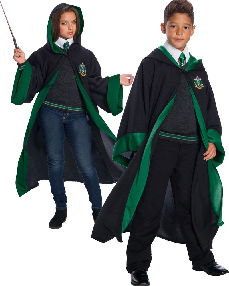 Harry Potter Slytherin Student Costume for Toddlers