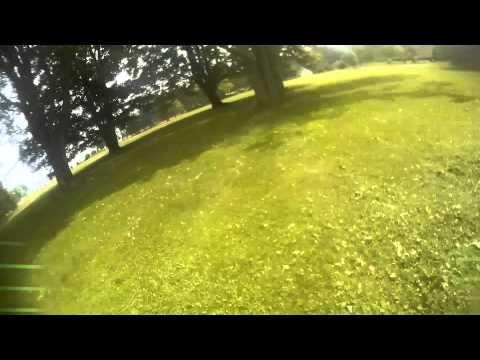 QAV250 - CC3D 600deg/s test - YouTube