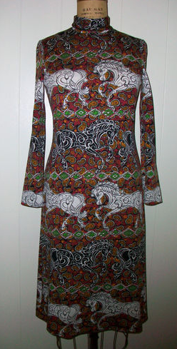 dress Vintage goldworm