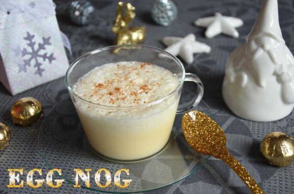 Eggnog {lait de poule en attendant le Père Noël}