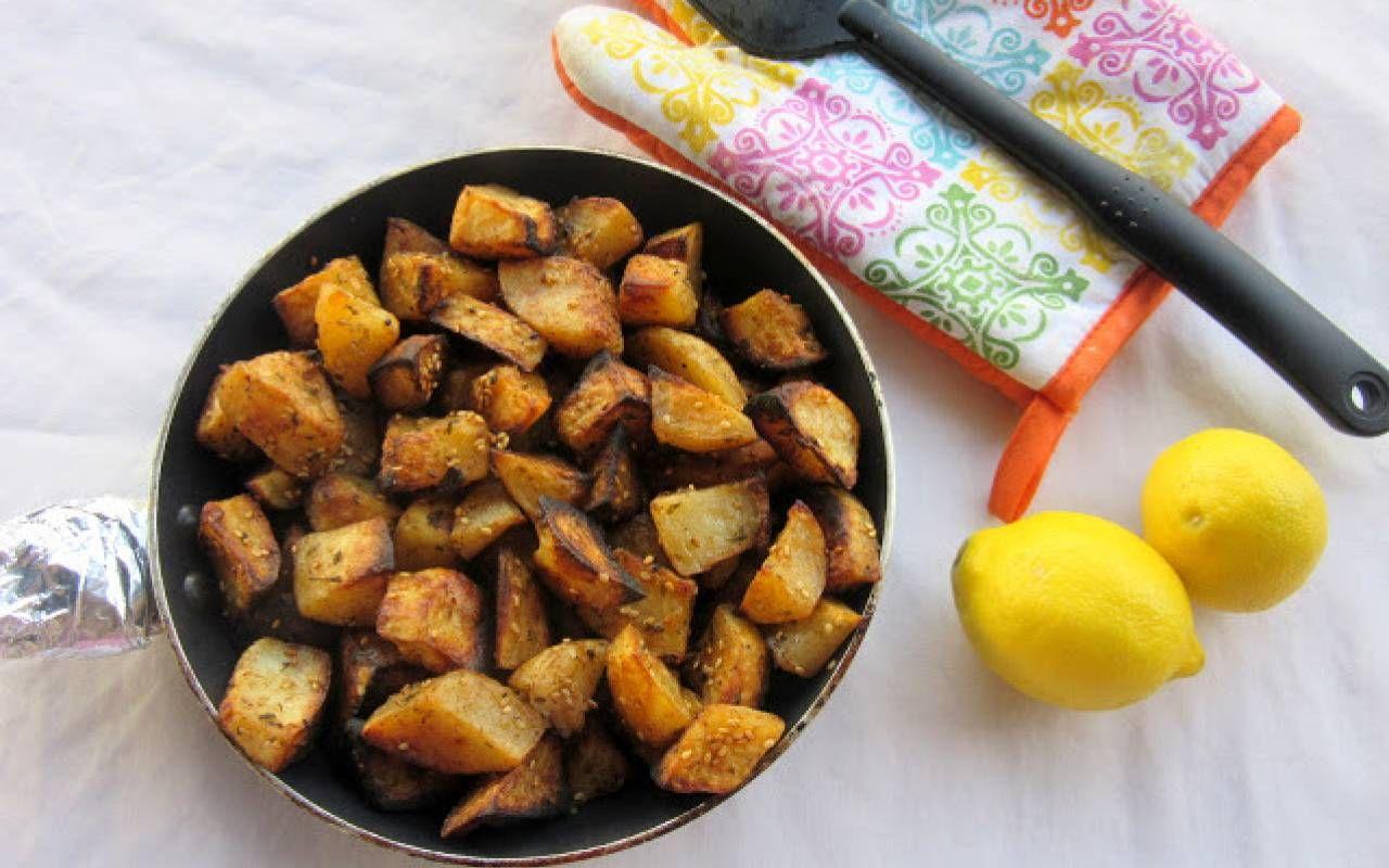 Roasted Potatoes With Za'atar Recipe