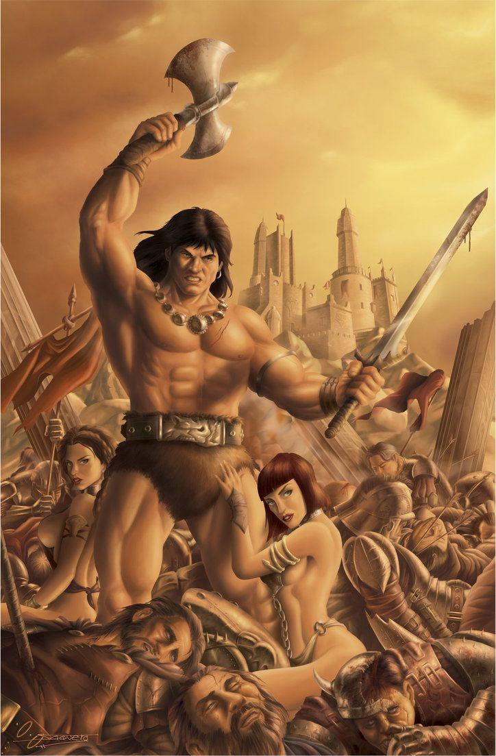 women Conan art barbarian porn the