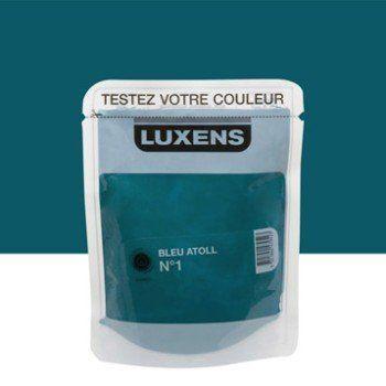 Testeur Peinture Bleu Atoll 1 Luxens Couleurs Intérieures