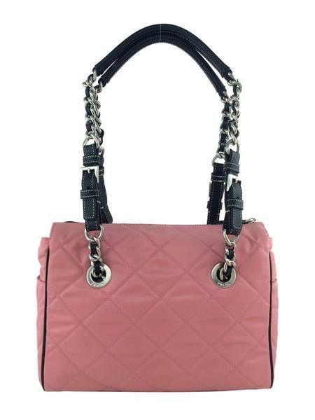 Prada Quilted Tessuto Nylon Shoulder Bag