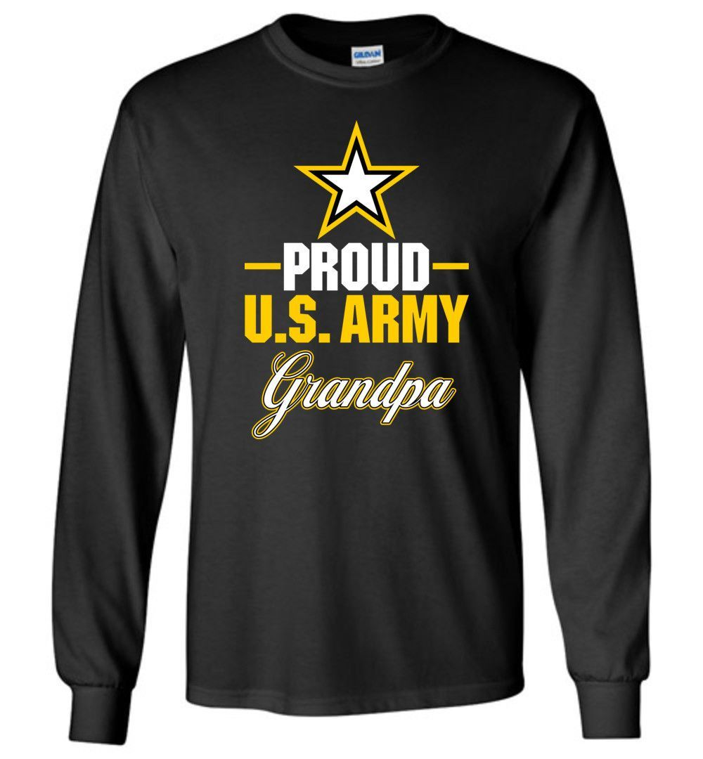 Proud U.S. Army Grandpa Long-Sleeve T-Shirt