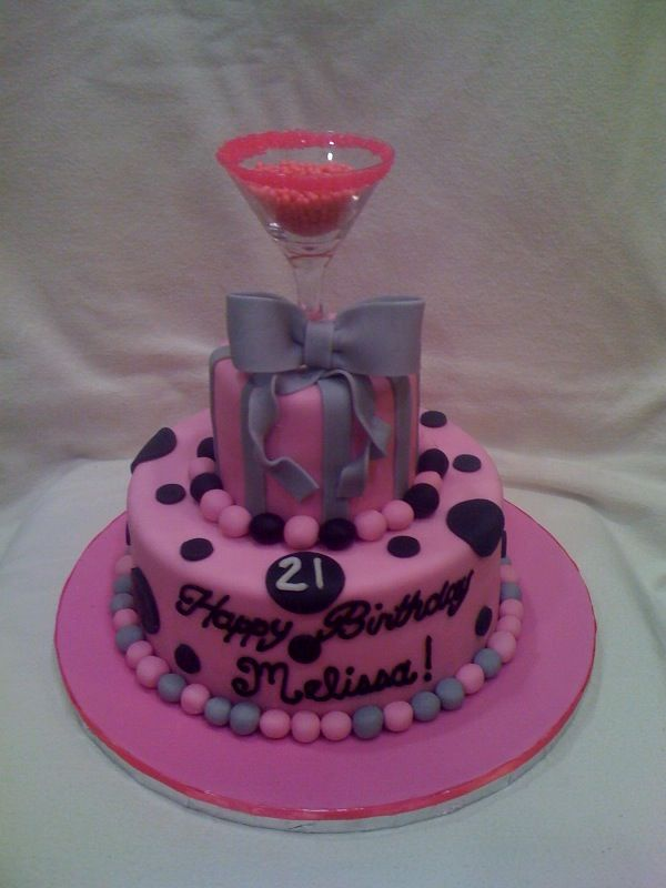 Easy Idea for a 21st Birthday Cake Cake Ideas Pinterest 21st