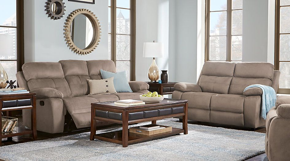 Corinne Stone 3 Pc Living Room from Furniture | Living ...
