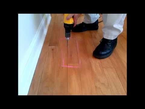 How To Fixrepair Squeaky Wood Floors With Fix A Floor 3gp8 Fix