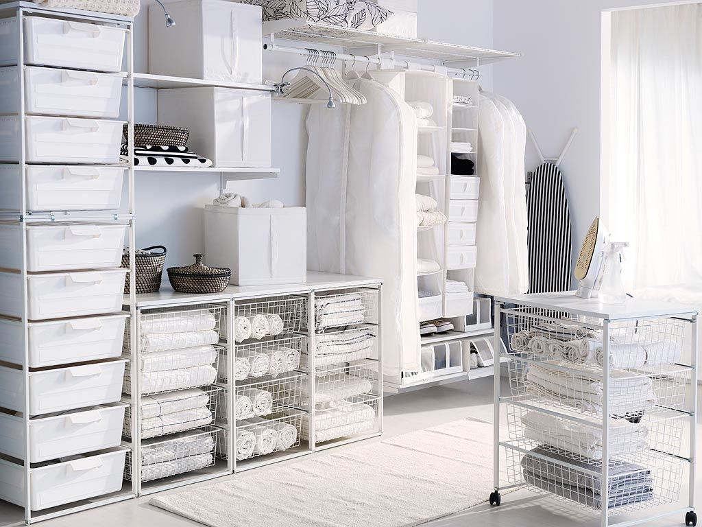 Products   Laundry room design, Ikea storage, Storage solutions closet
