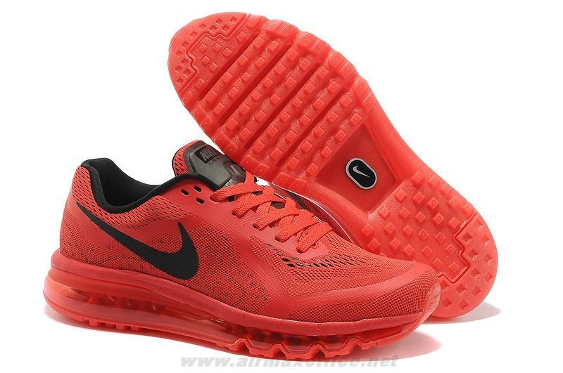 outlet store 064fb f6c04 621077-666 University Red Black Shoes Mens Nike Air Max 2014