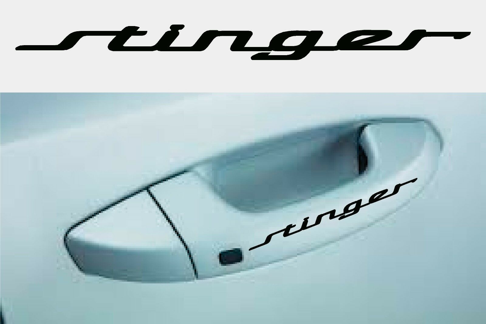 4X Sport Door Handle Car Sticker Very cool High Quality JDM Fits All Cars!!