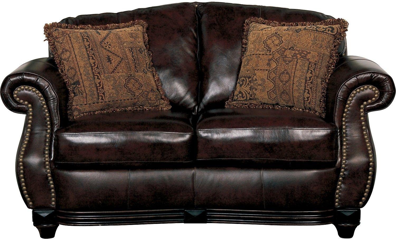Amazing Prestige 100 Genuine Leather Loveseat Brown The Brick Spiritservingveterans Wood Chair Design Ideas Spiritservingveteransorg
