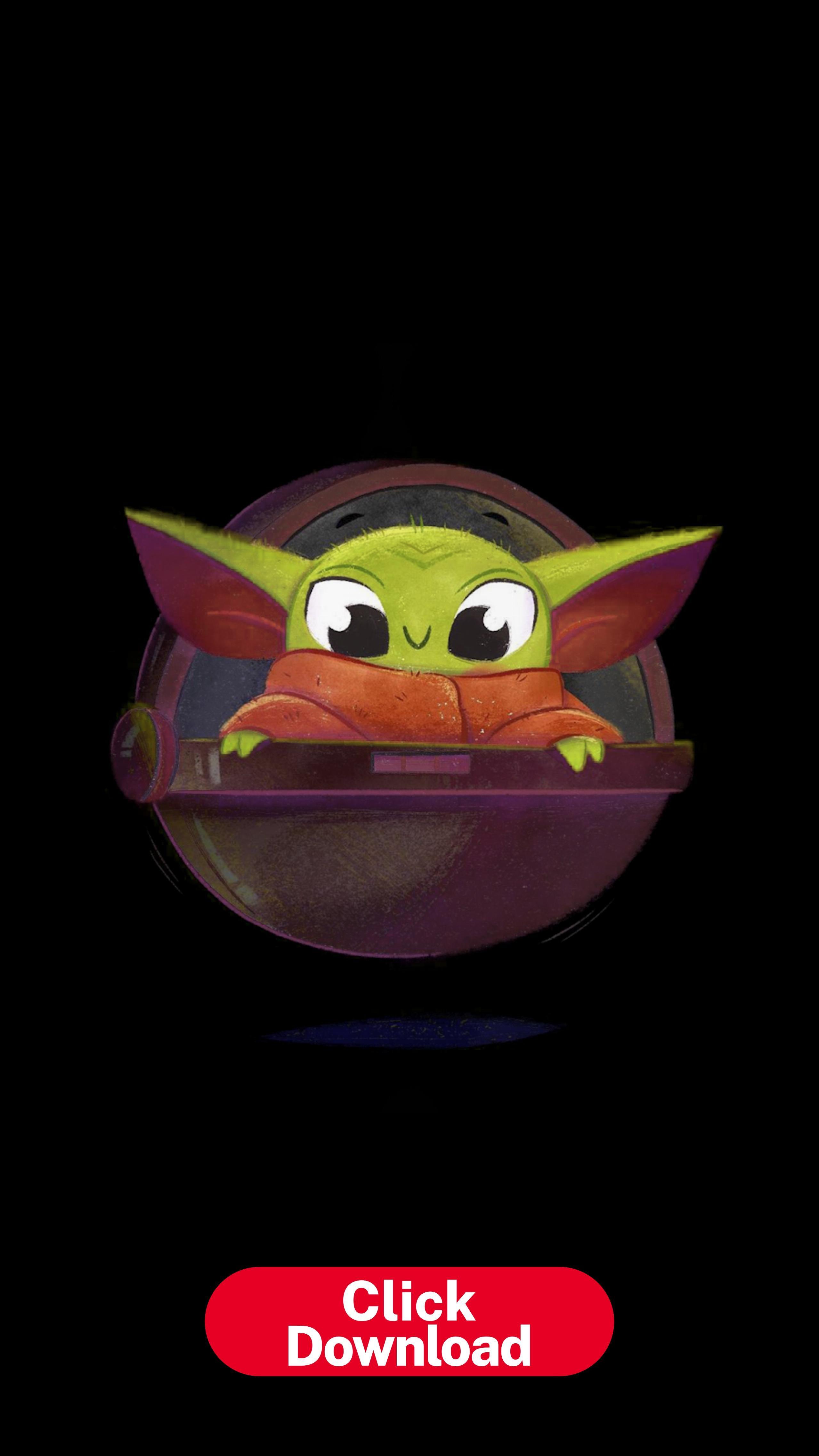 The Child Yoda Wallpaper Yoda Art Star Wars Wallpaper