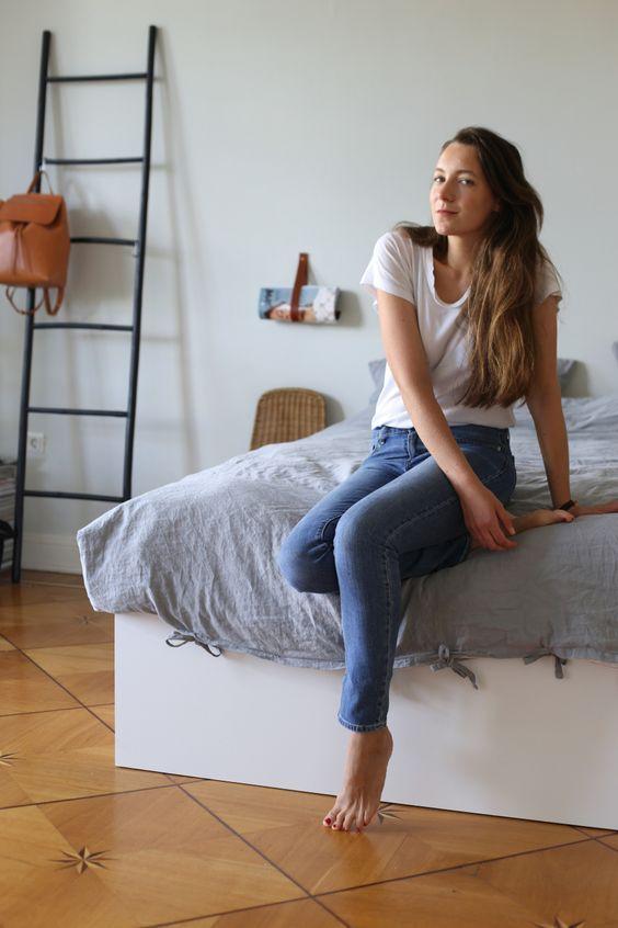 urbnite           - urbnite:  Levi's 721 High-Rise Skinny Jeans